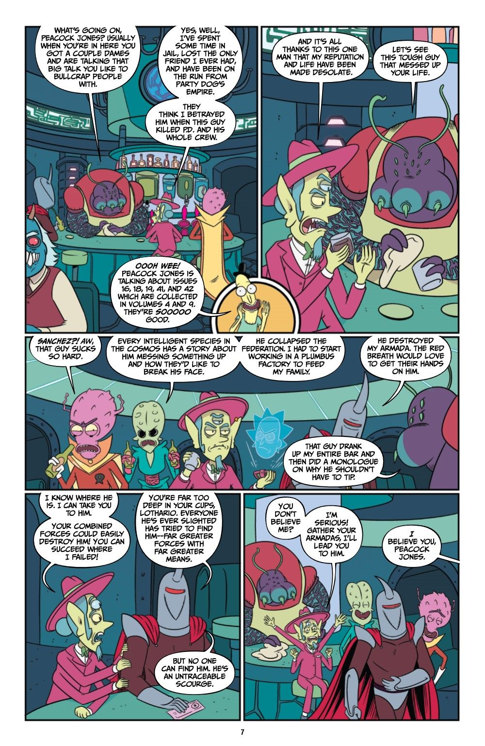 RICKMORTY-V12-TPB-REFERENCE-008 ComicList Previews: RICK AND MORTY VOLUME 12 TP