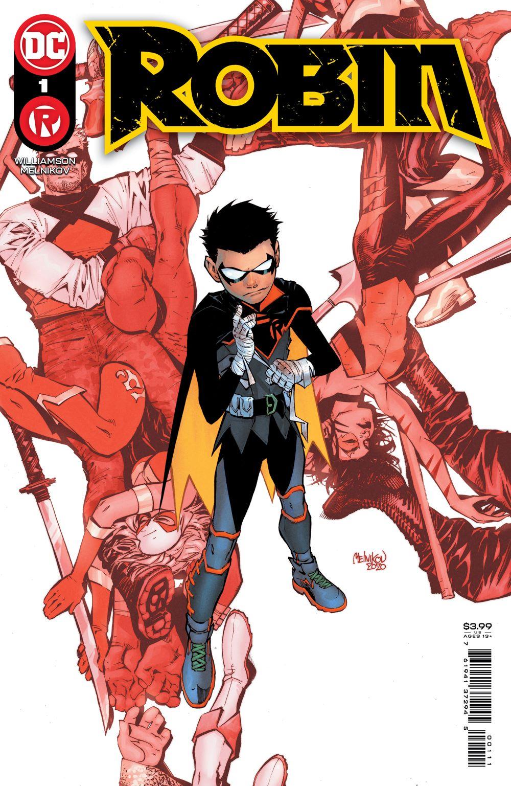 ROBIN_Cv1 DC Comics April 2021 Solicitations