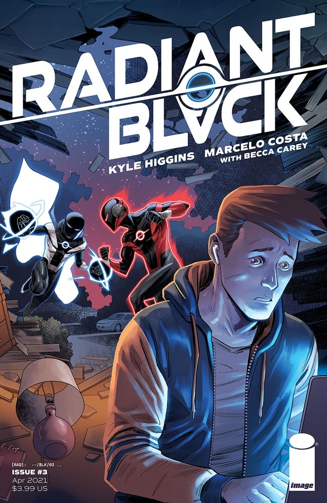 RadiantBlack_03a Image Comics April 2021 Solicitations