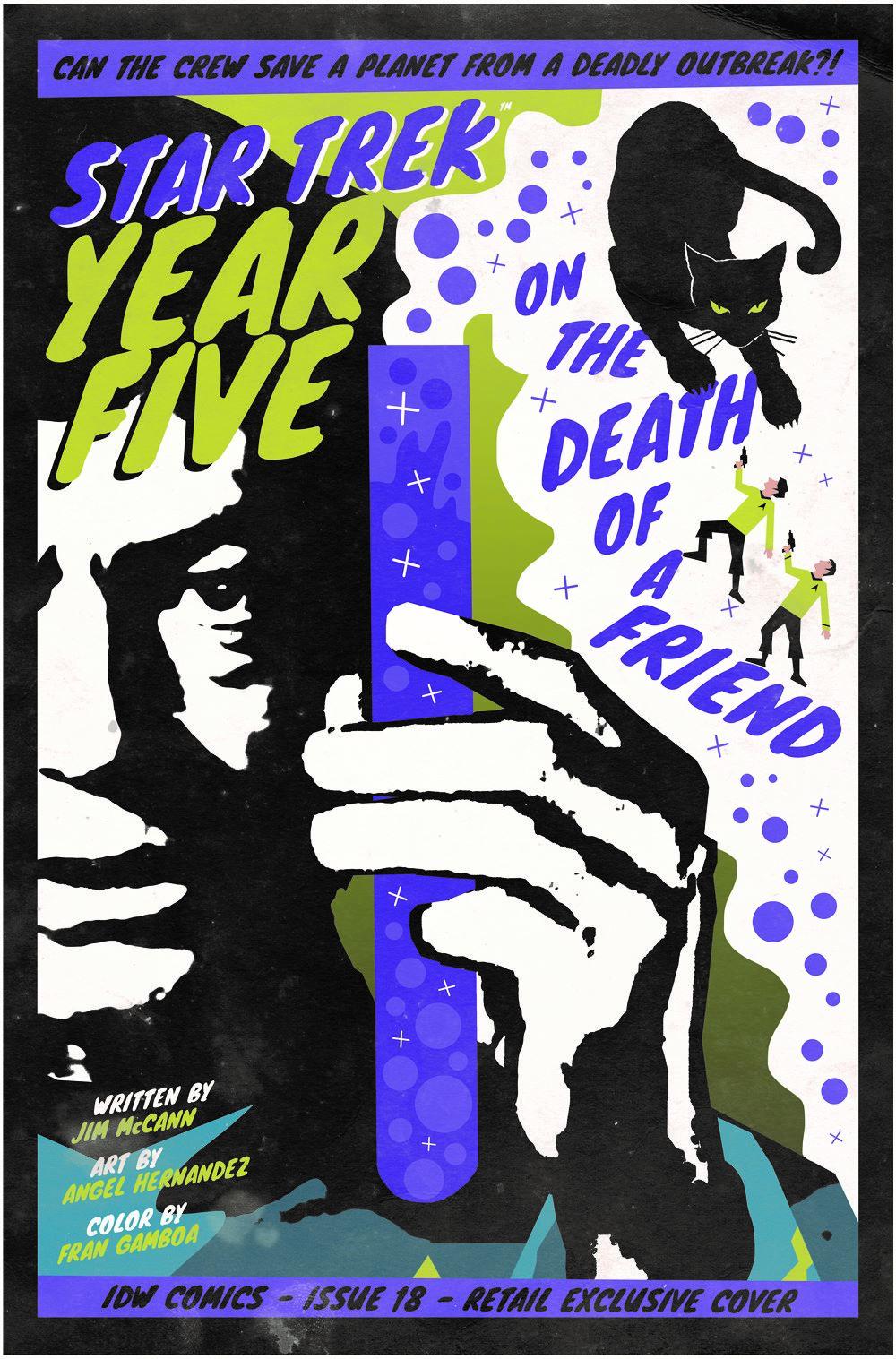 ST_YearFive18-coverRI ComicList Previews: STAR TREK YEAR FIVE #18