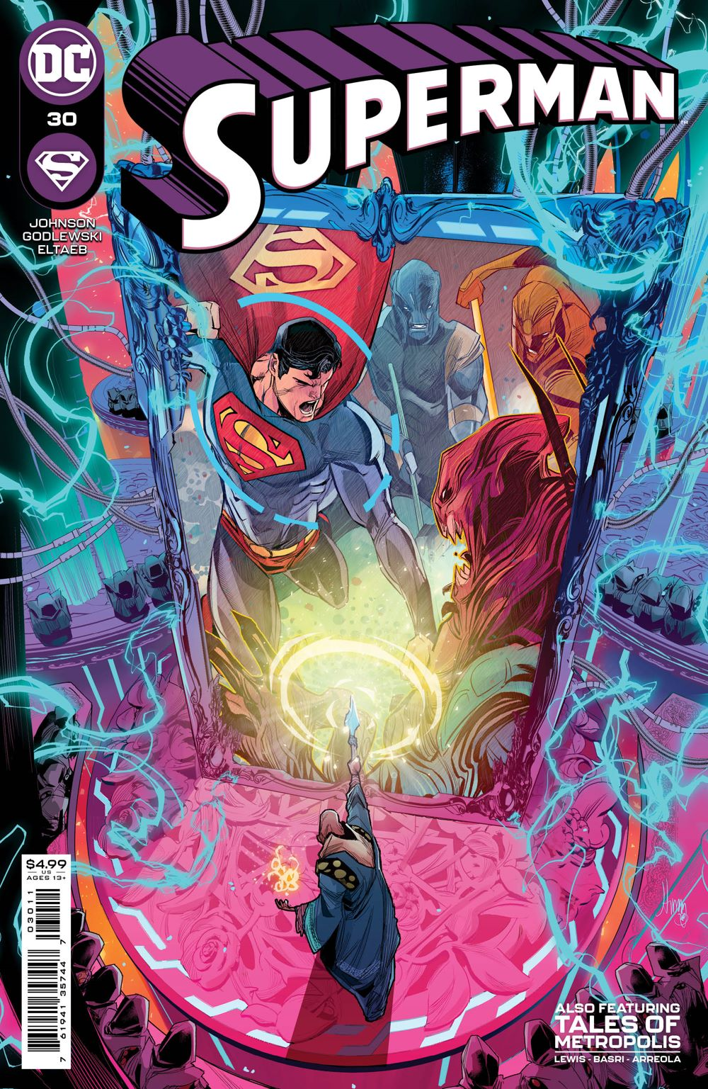 SUPERMAN_Cv30 DC Comics April 2021 Solicitations
