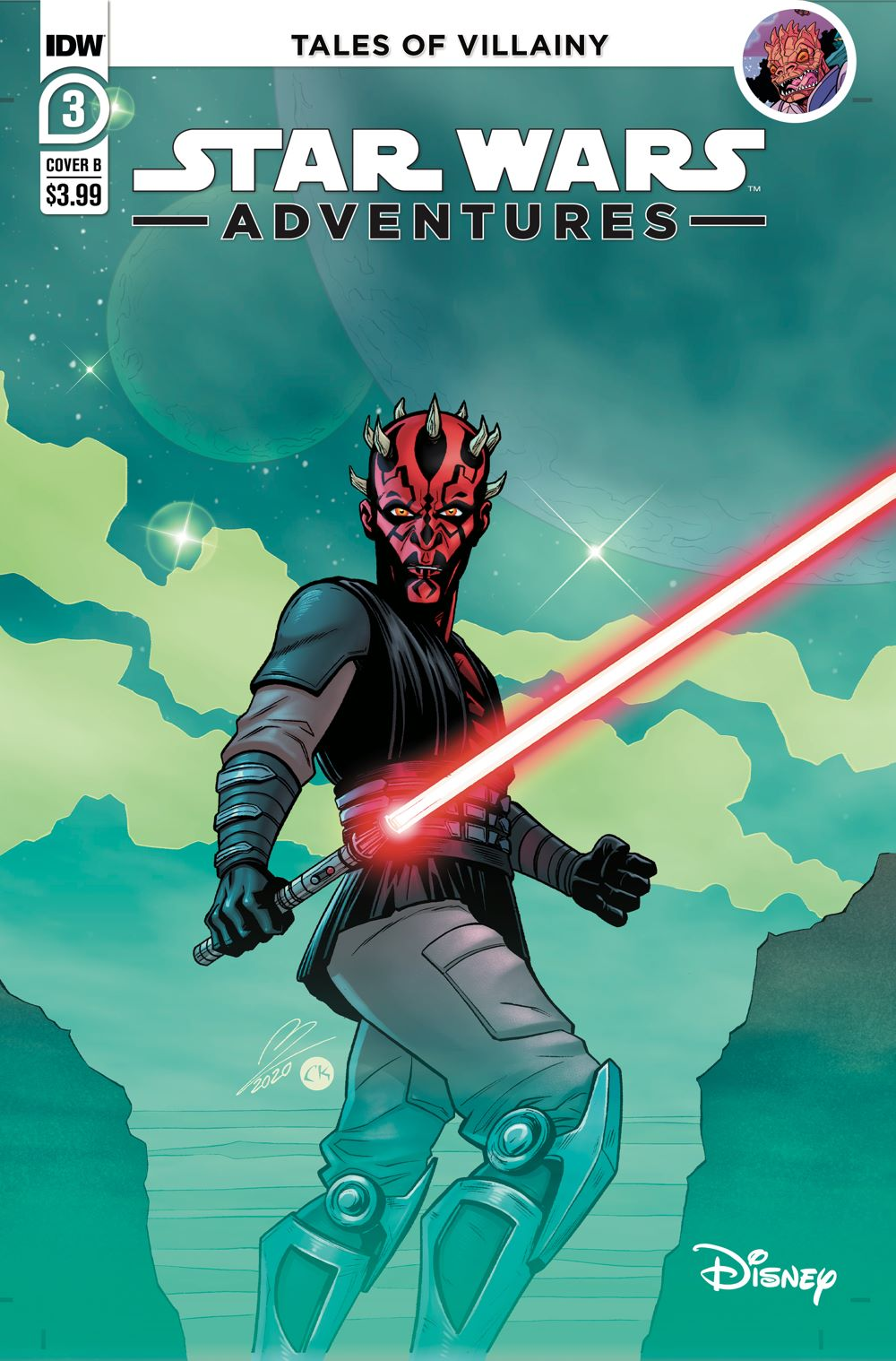 SWA-03-Cover-B ComicList Previews: STAR WARS ADVENTURES VOLUME 2 #3