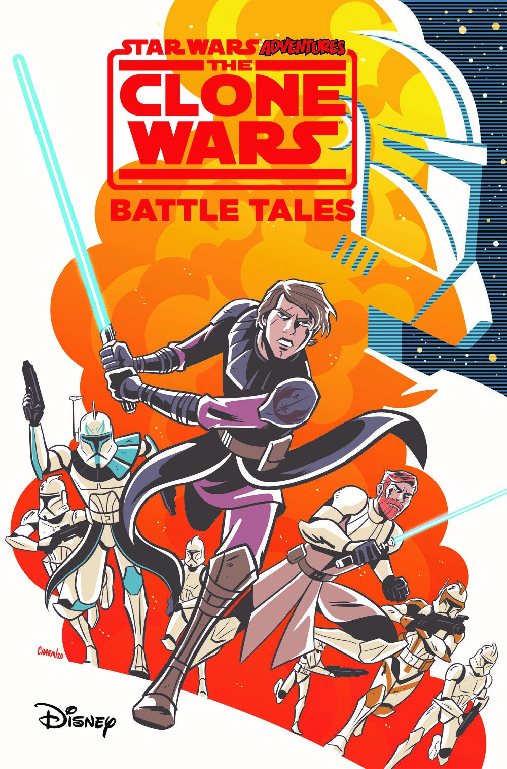 SWA-CW-TPB ComicList Previews: STAR WARS ADVENTURES THE CLONE WARS BATTLE TALES GN