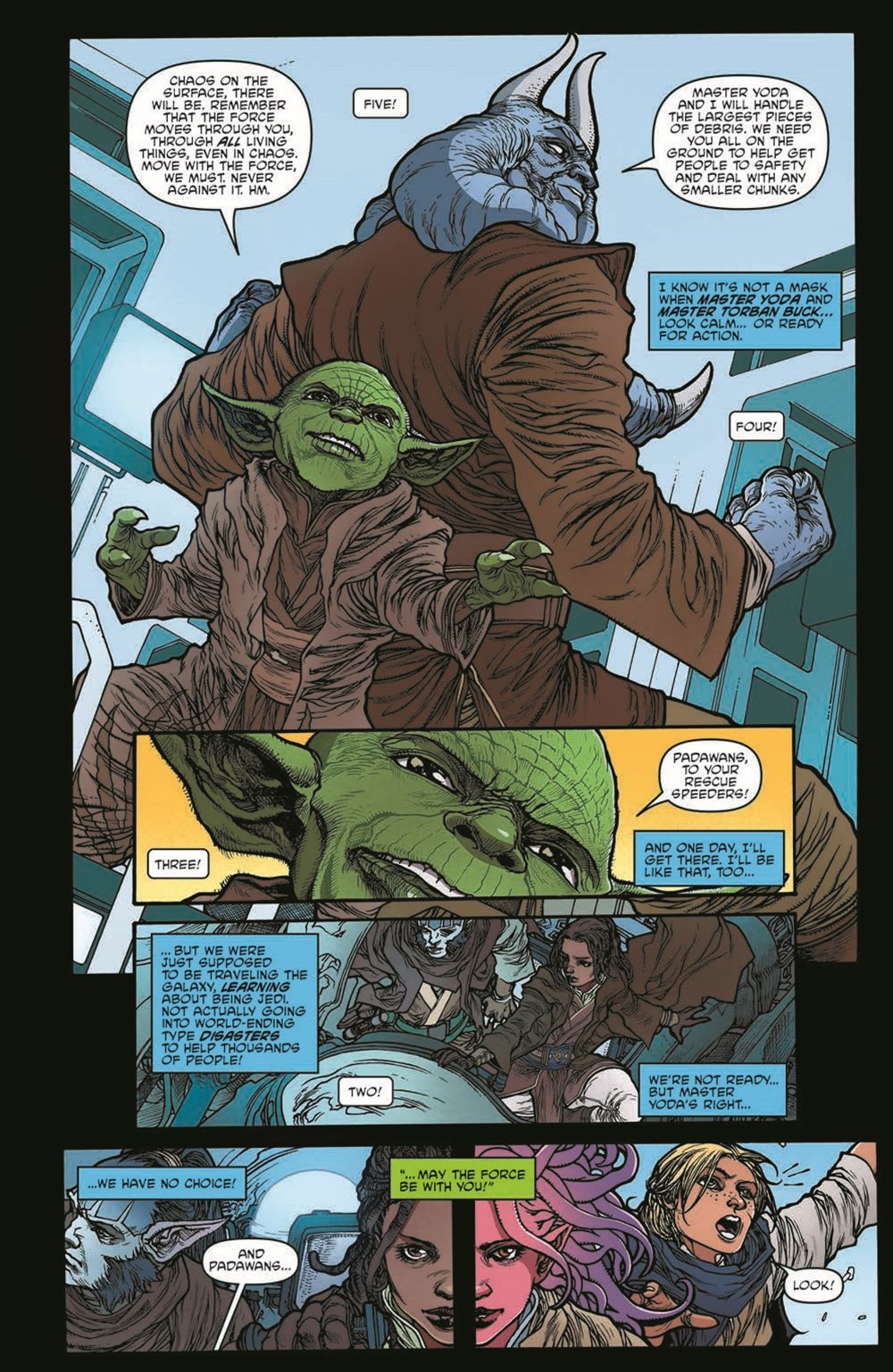 SWAHRA01-pr-7 ComicList Previews: STAR WARS THE HIGH REPUBLIC ADVENTURES #1