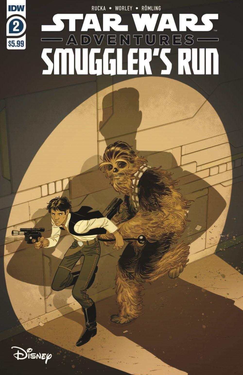 SWA_Smuggler02_pr-1 ComicList Previews: STAR WARS ADVENTURES SMUGGLER'S RUN #2 (OF 2)