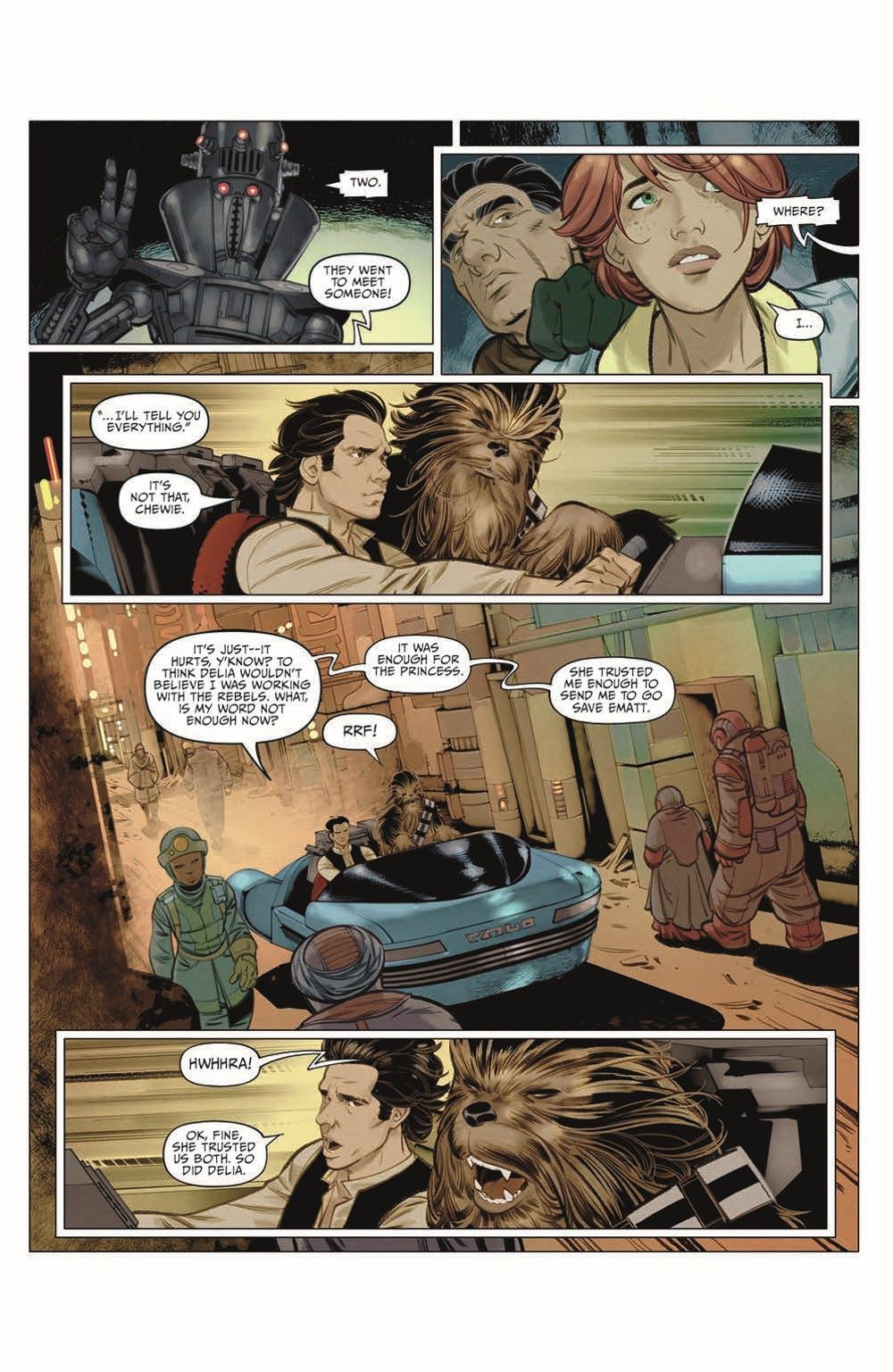 SWA_Smuggler02_pr-4 ComicList Previews: STAR WARS ADVENTURES SMUGGLER'S RUN #2 (OF 2)