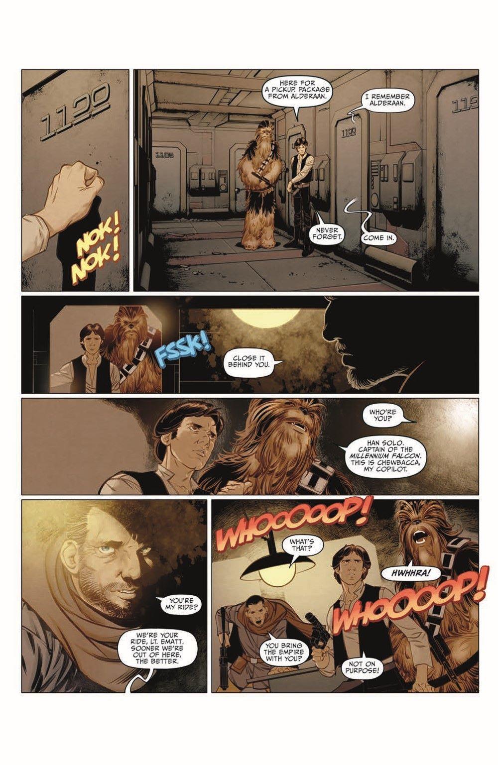 SWA_Smuggler02_pr-6 ComicList Previews: STAR WARS ADVENTURES SMUGGLER'S RUN #2 (OF 2)