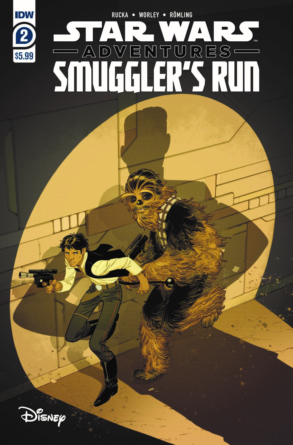 SWA_SmugglersRun02 ComicList Previews: STAR WARS ADVENTURES SMUGGLER'S RUN #2 (OF 2)