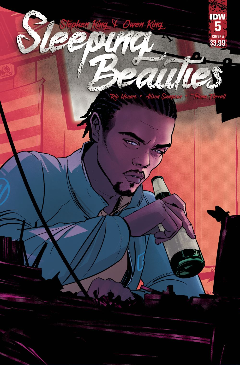 SleepingBeauties_05_CVR_A ComicList: IDW Publishing New Releases for 01/06/2021