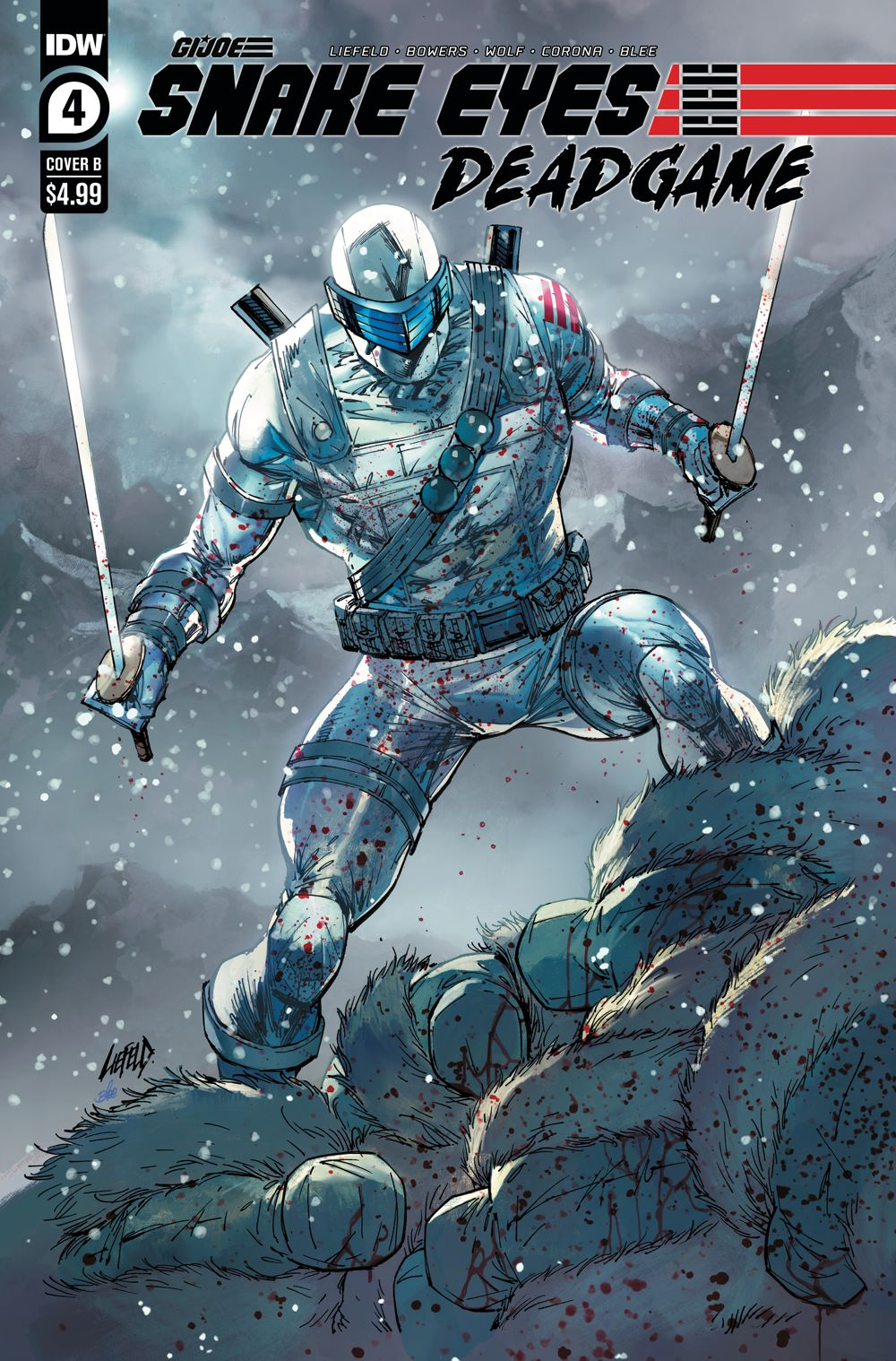 SnakeEyes_DG04-coverB ComicList: IDW Publishing New Releases for 02/03/2021