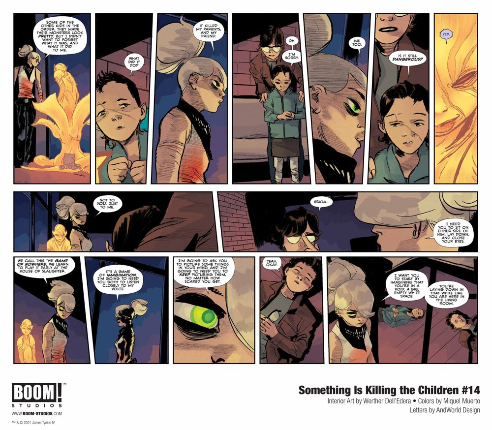 SomethingKillingChildren_014_InteriorArt_002-003_PROMO Your First Look at BOOM! Studios' SOMETHING IS KILLING THE CHILDREN #14