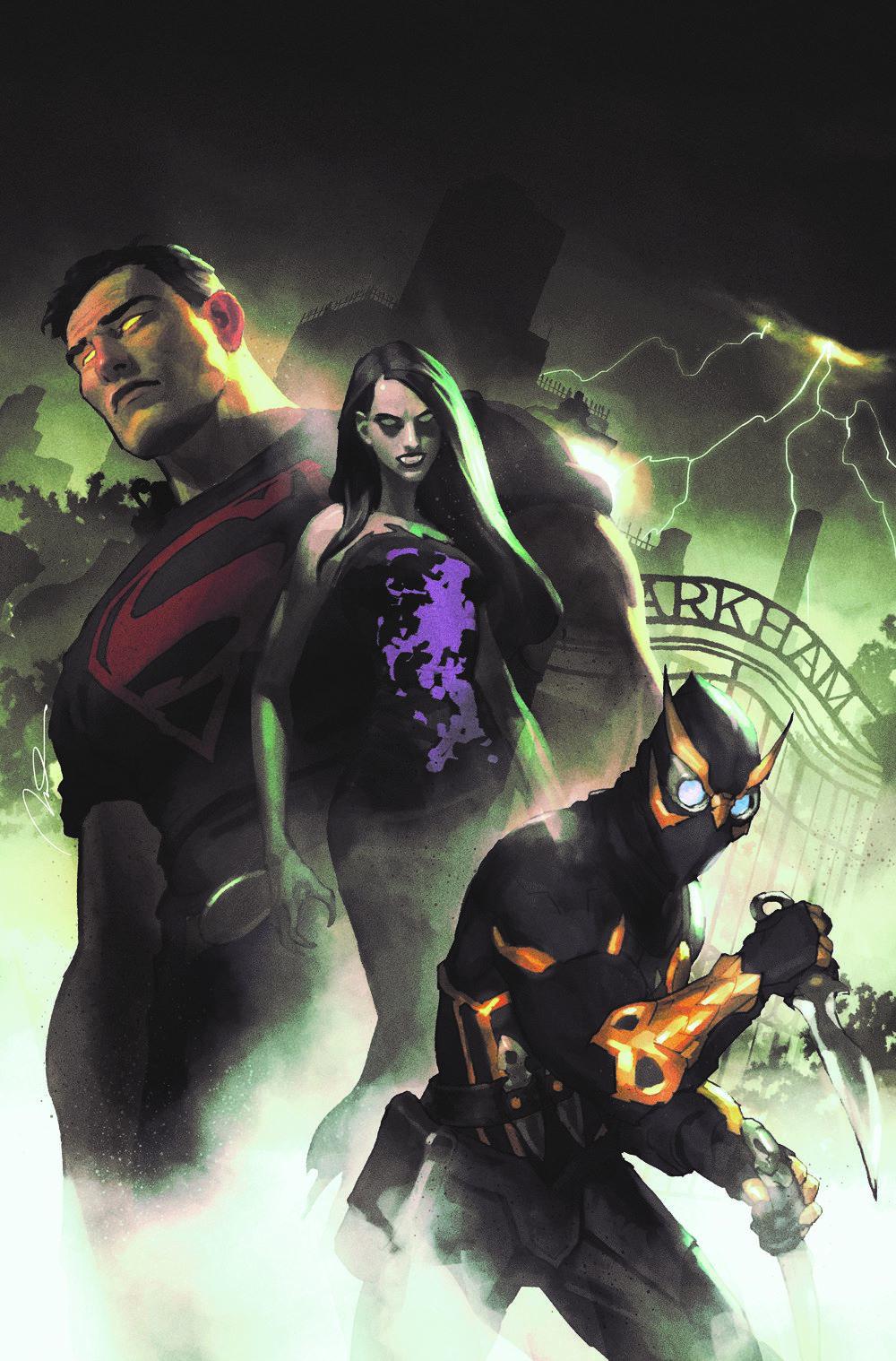Suicide-squad-2-variant-Parel DC Comics April 2021 Solicitations