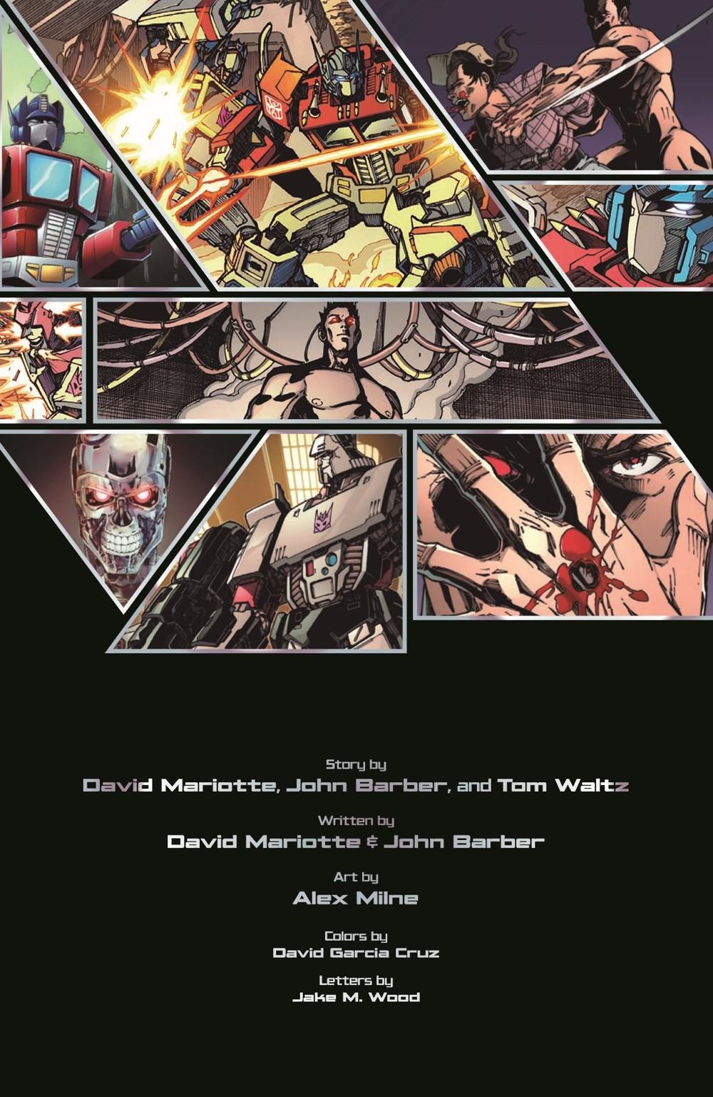 TF-vs-TERMINATOR-pr-3 ComicList Previews: TRANSFORMERS VS THE TERMINATOR ENEMY OF MY ENEMY TP