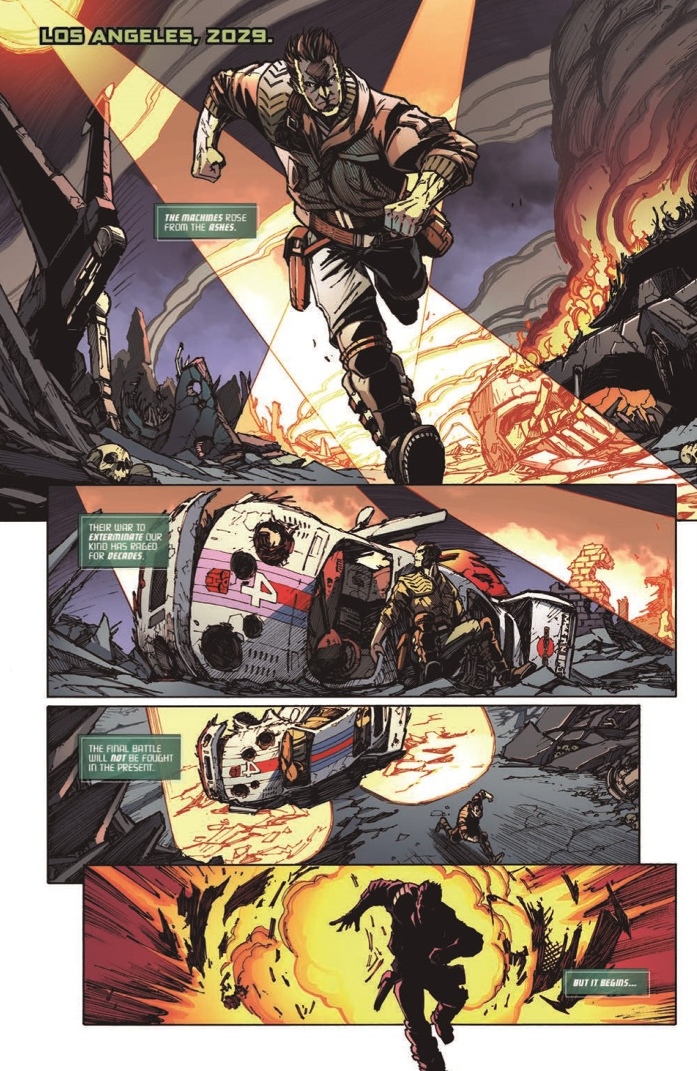 TF-vs-TERMINATOR-pr-4 ComicList Previews: TRANSFORMERS VS THE TERMINATOR ENEMY OF MY ENEMY TP
