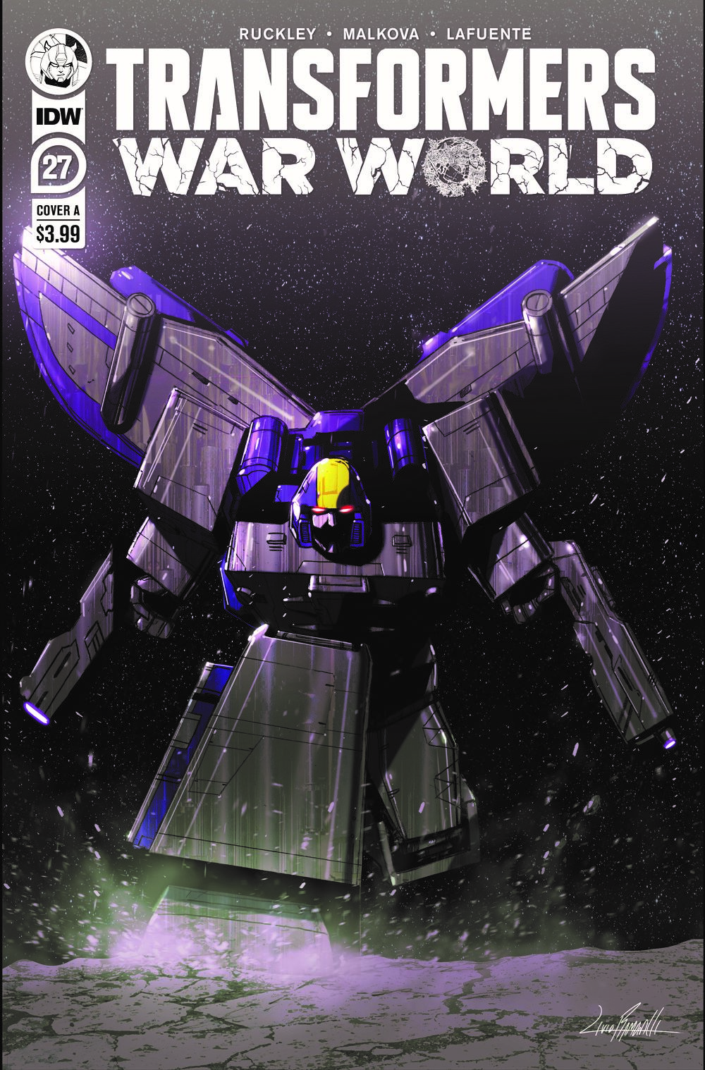 TF27-cvr-A ComicList: IDW Publishing New Releases for 01/20/2021