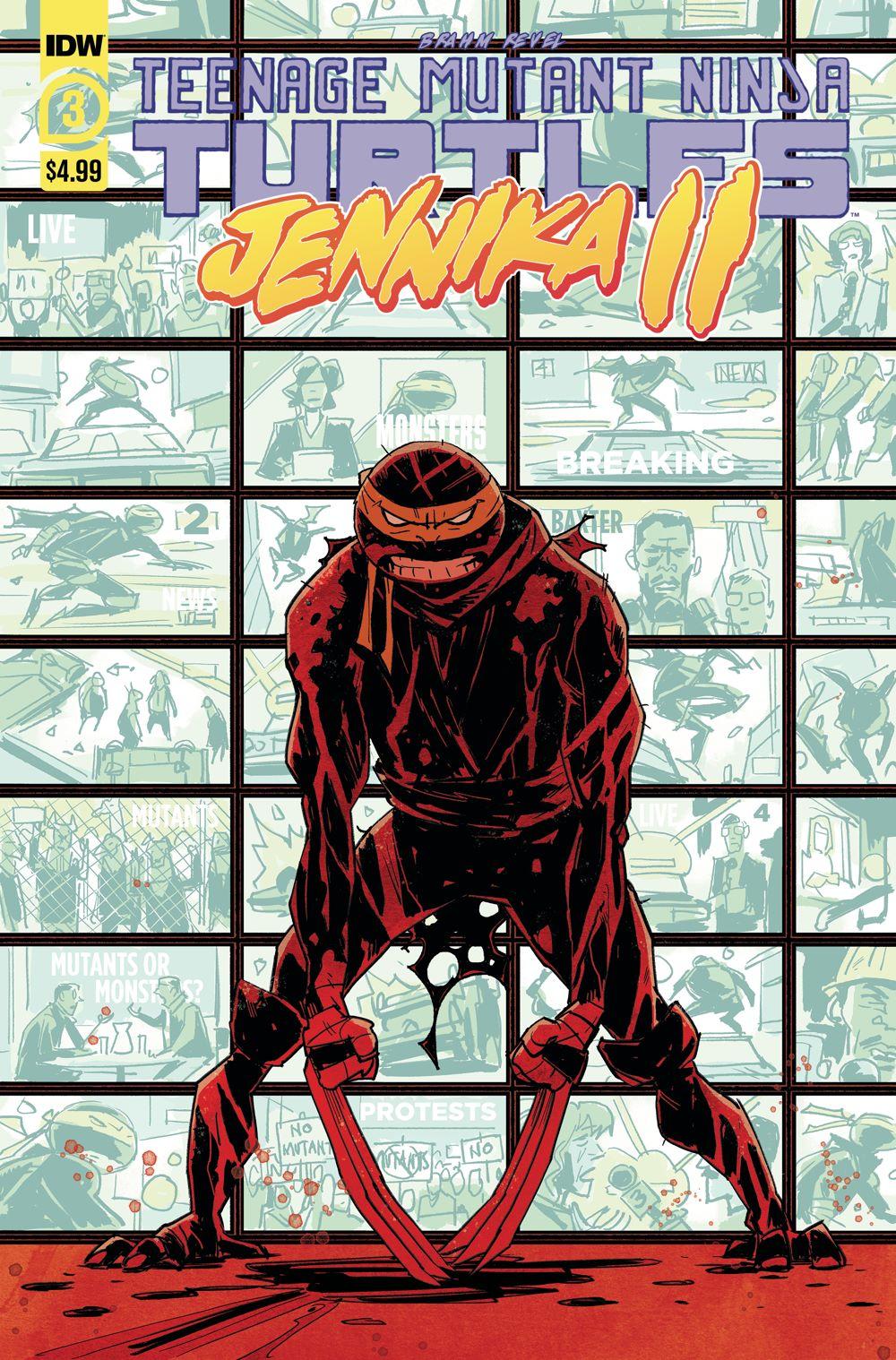 TMNT-JennikaII_03_cvrA ComicList: IDW Publishing New Releases for 01/20/2021