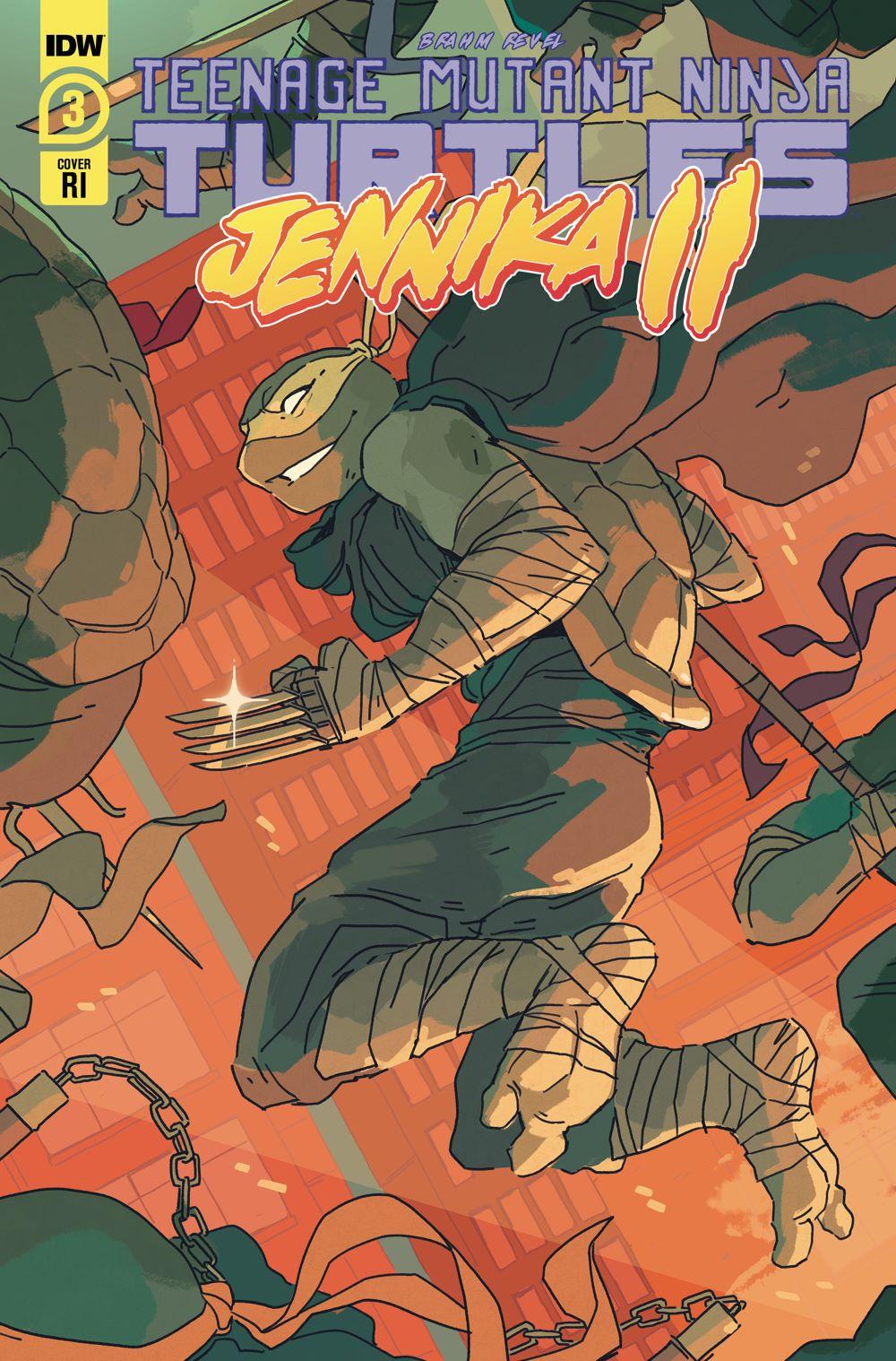 TMNT-JennikaII_03_cvrRI ComicList: IDW Publishing New Releases for 01/20/2021