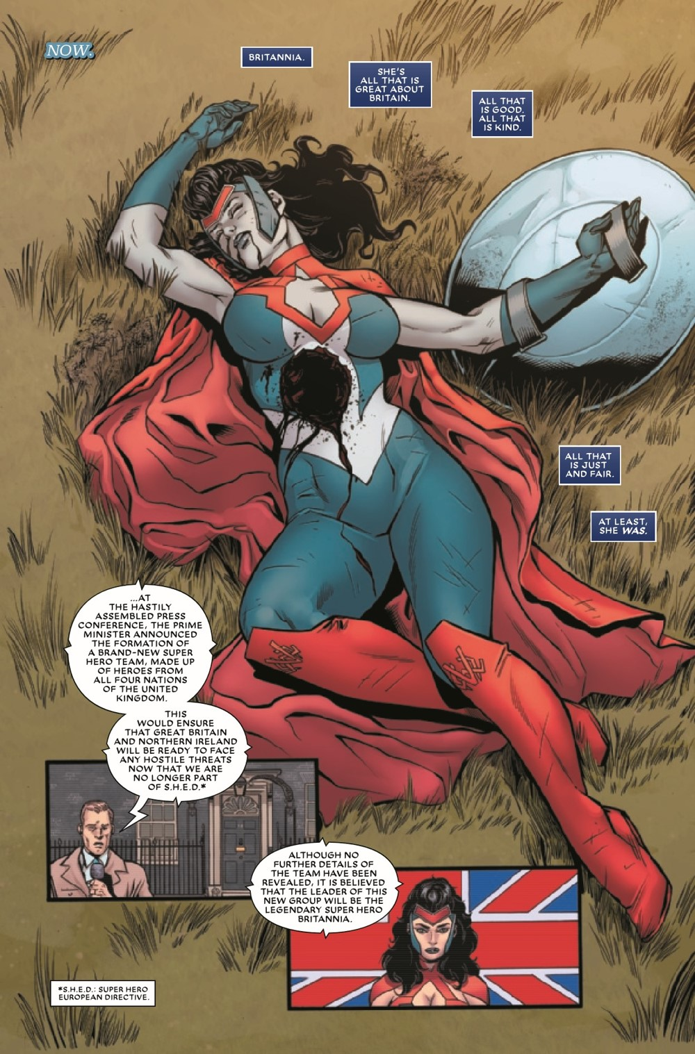 UNION2020002_Preview-3 ComicList Previews: THE UNION #2 (OF 5)