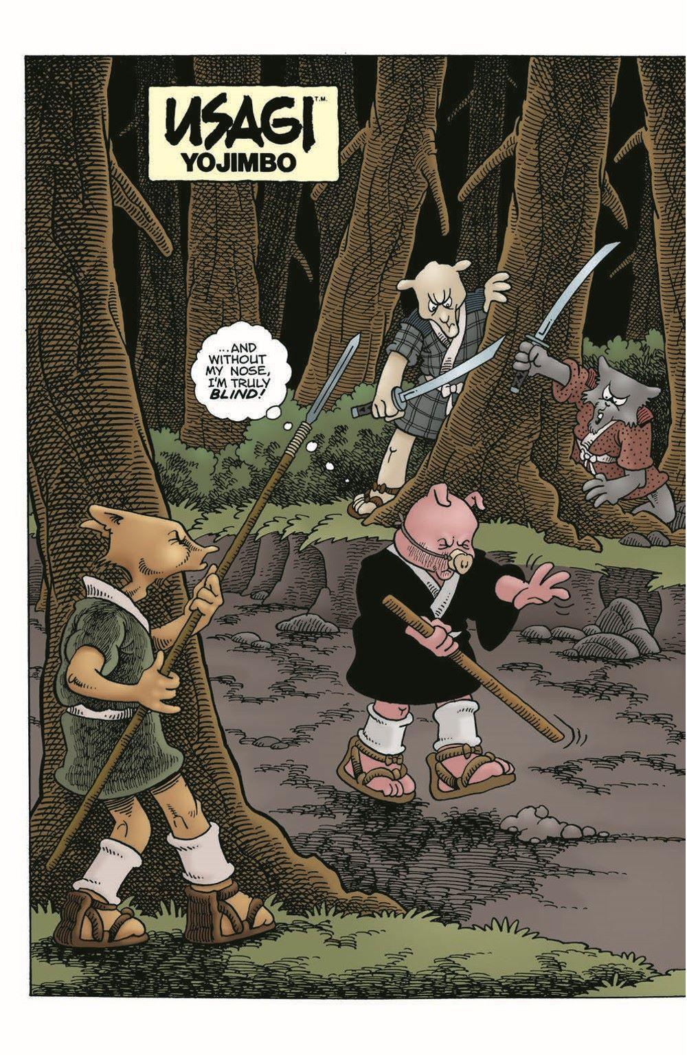 Usagi-WR03_pr-4 ComicList Previews: USAGI YOJIMBO WANDERER'S ROAD #3 (OF 6)