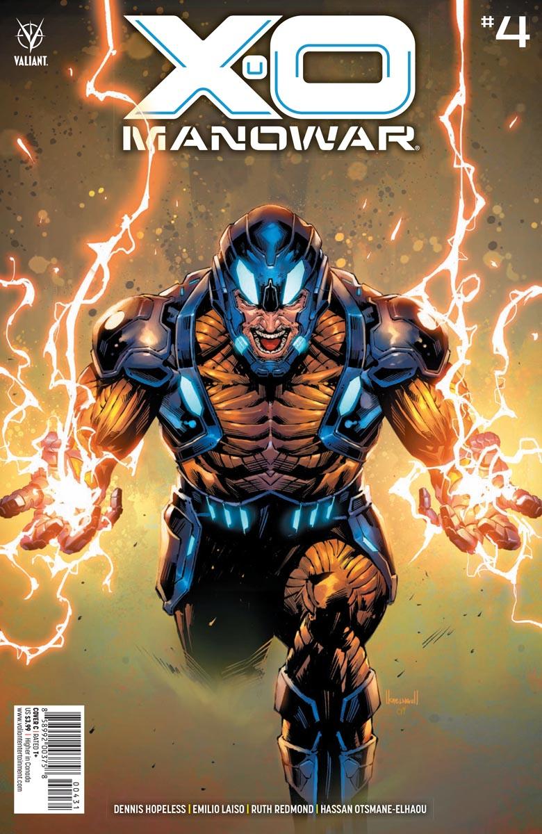 XO_4_COVER_C ComicList Previews: X-O MANOWAR #4