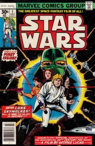 star-wars-1-195x300 Comic Books and the Bumper Car Analogy: Star Wars
