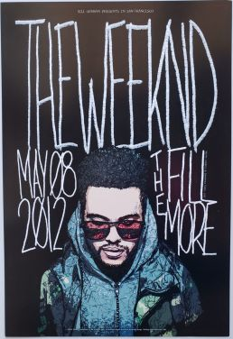 weeknd-concert-poster-2-206x300 No Tears Here: Collecting The Weeknd Concert Posters