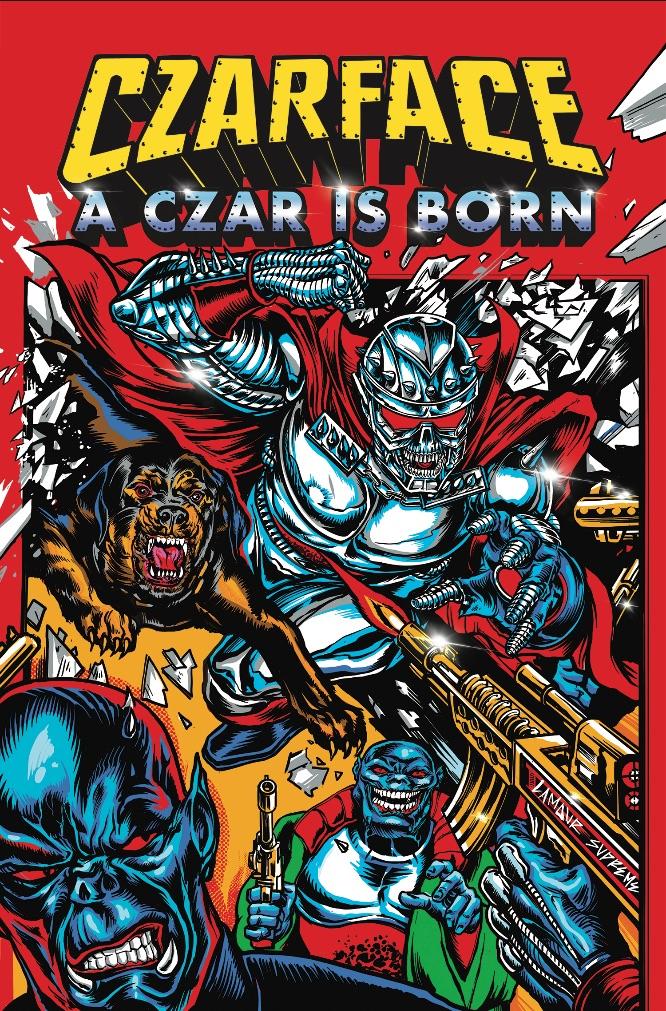 074f83ad-e371-425c-854c-6b187aea4e35 Z2 Comics to publish CZARFACE: A CZAR IS BORN
