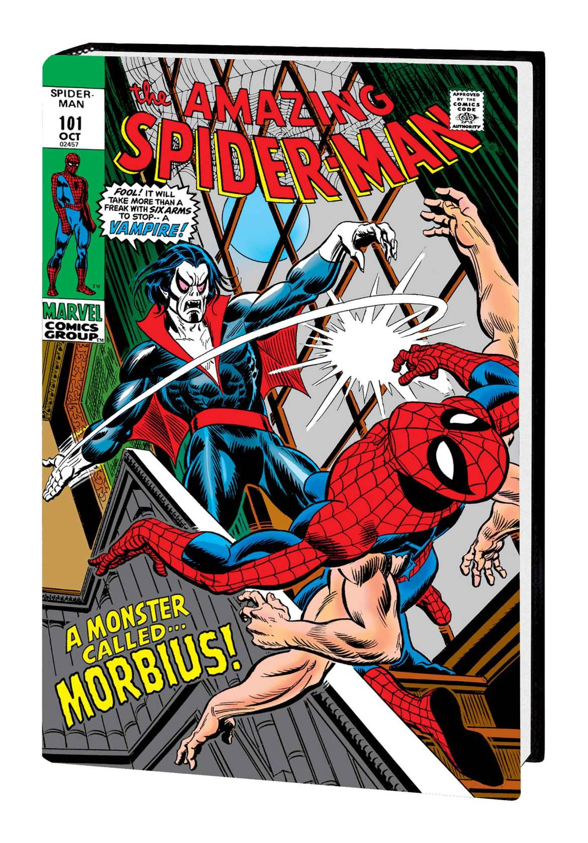ASMOMNIV3HC_cover_var-1 Marvel Comics May 2021 Solicitations