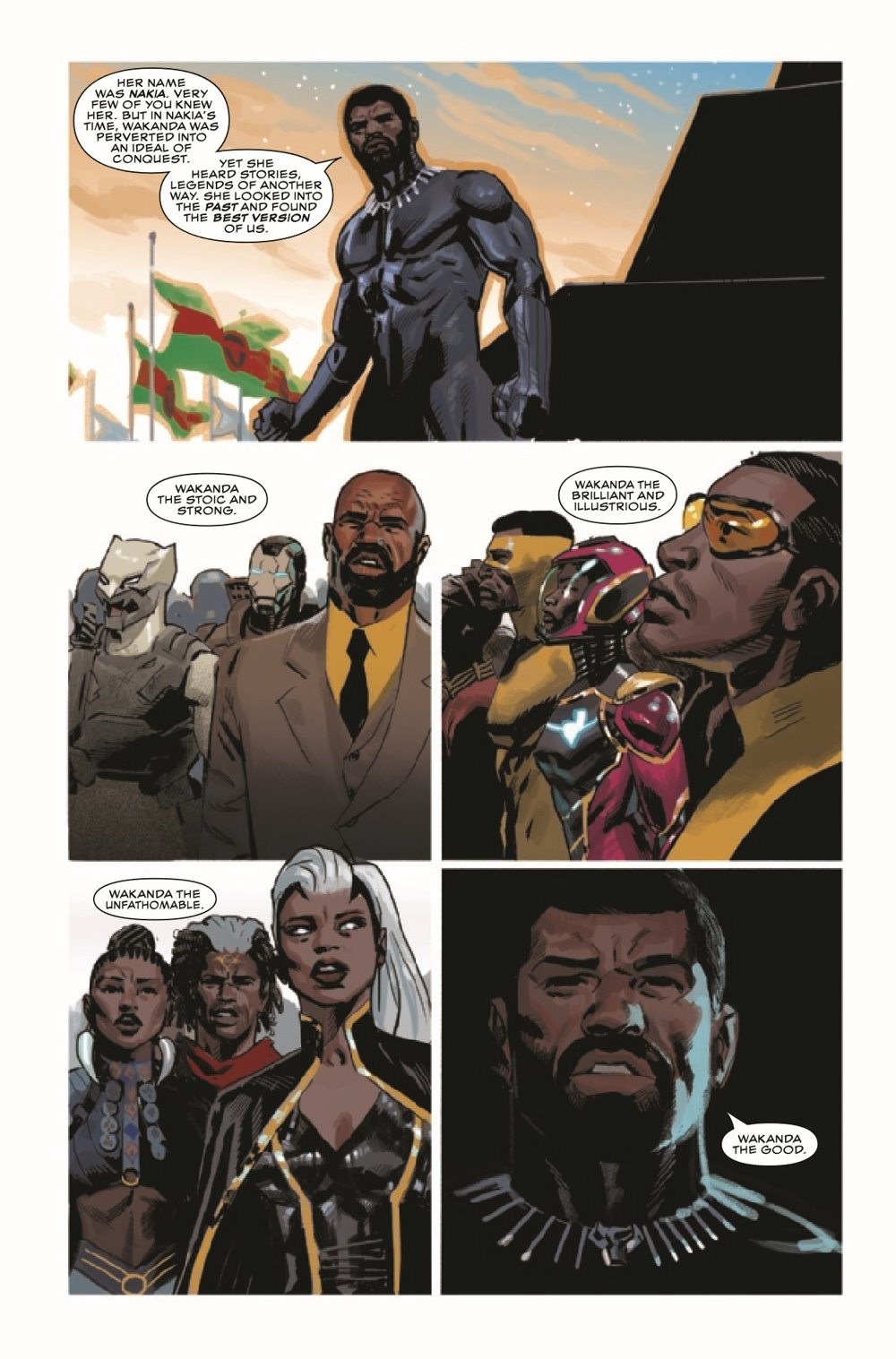 BLAP2018023_Preview-6 ComicList Previews: BLACK PANTHER #23