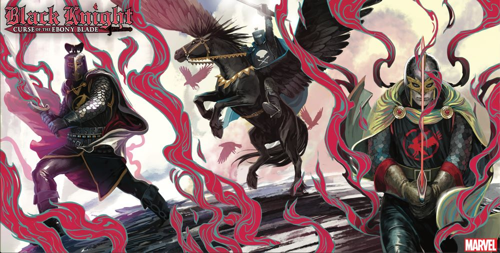 BLKKNGHT2021_HANS-connected Stephanie Hans connects the BLACK KNIGHT: CURSE OF THE EBONY BLADE covers