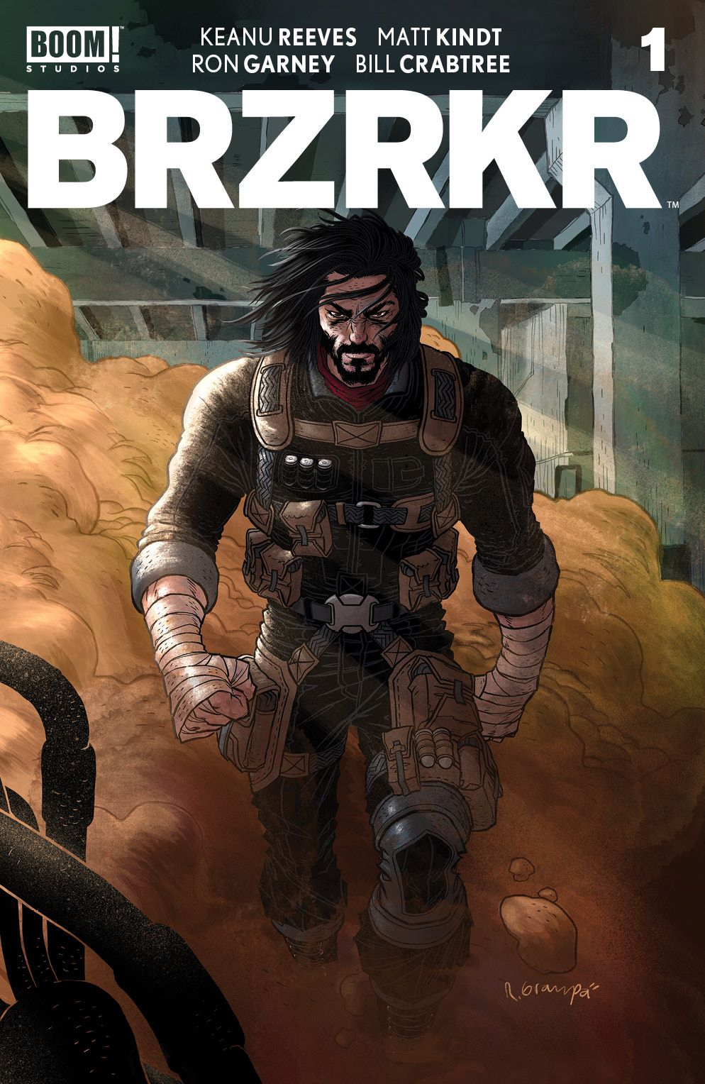 BRZRKR_001_Cover_H_Variant_001_LOW ComicList: BOOM! Studios New Releases for 03/03/2021