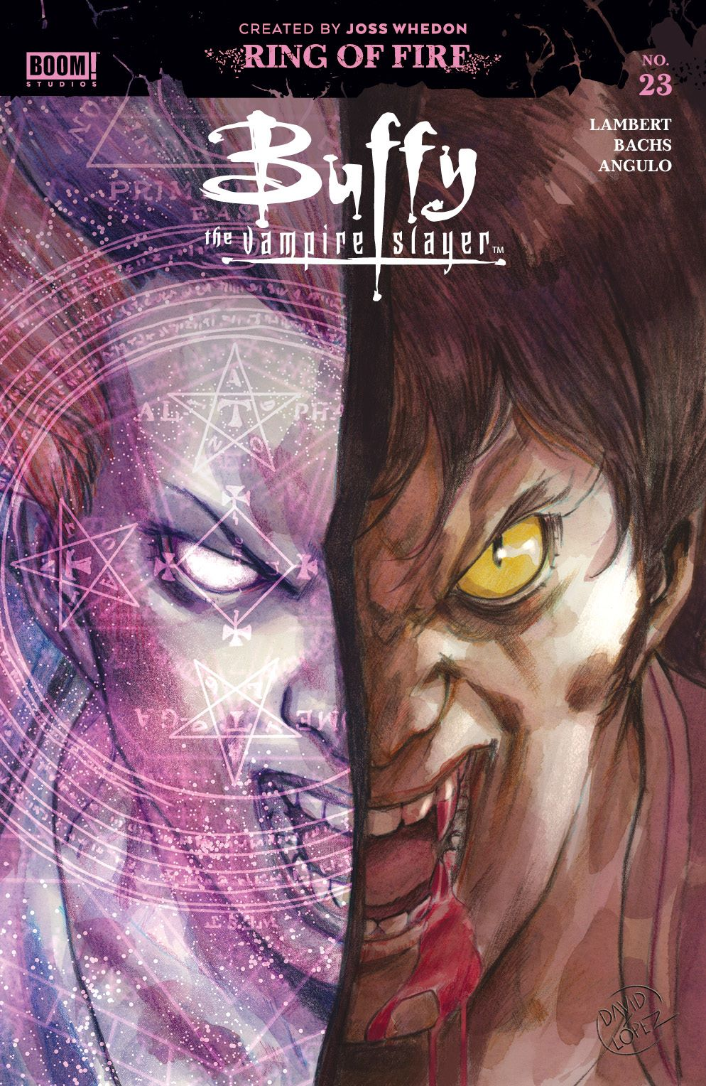 Buffy_023_Cover_A_Main_LOW ComicList Previews: BUFFY THE VAMPIRE SLAYER #23