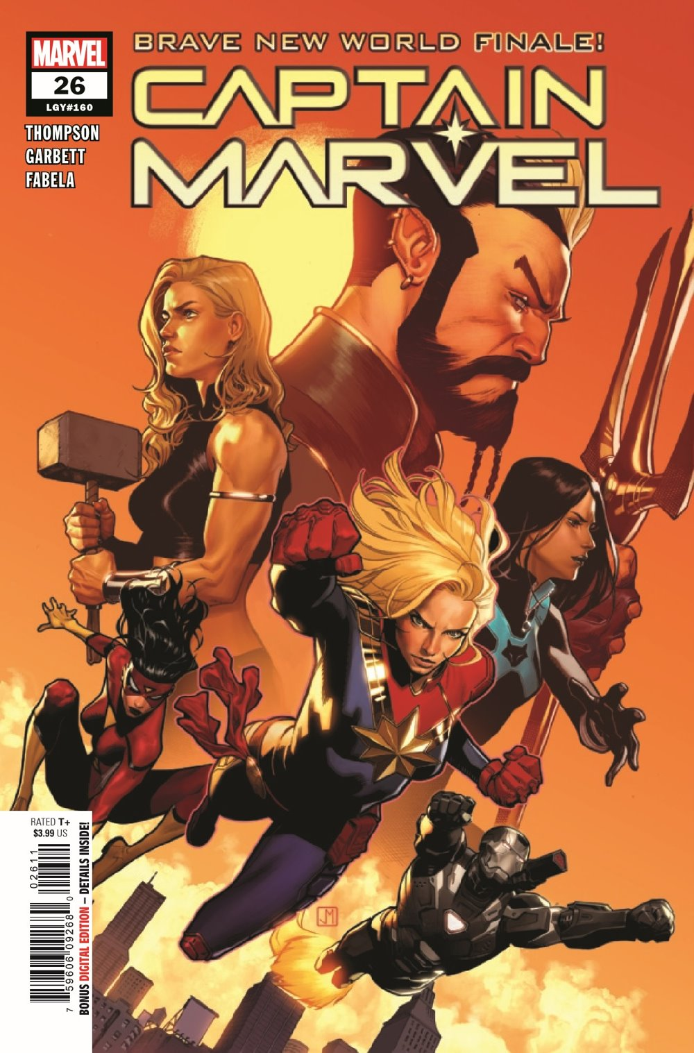 CAPMARV2019026_Preview-1 ComicList Previews: CAPTAIN MARVEL #26