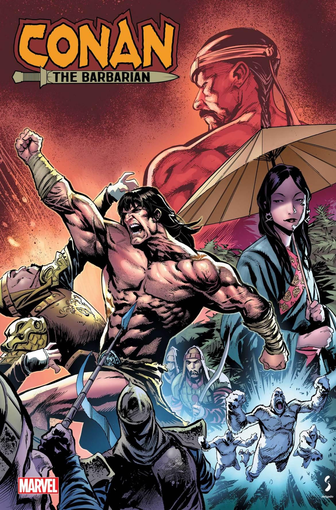 CONANBARB2020021 Marvel Comics May 2021 Solicitations