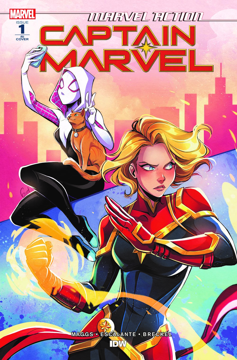 CaptainMarvel_RIcvr_01 ComicList: IDW Publishing New Releases for 03/03/2021