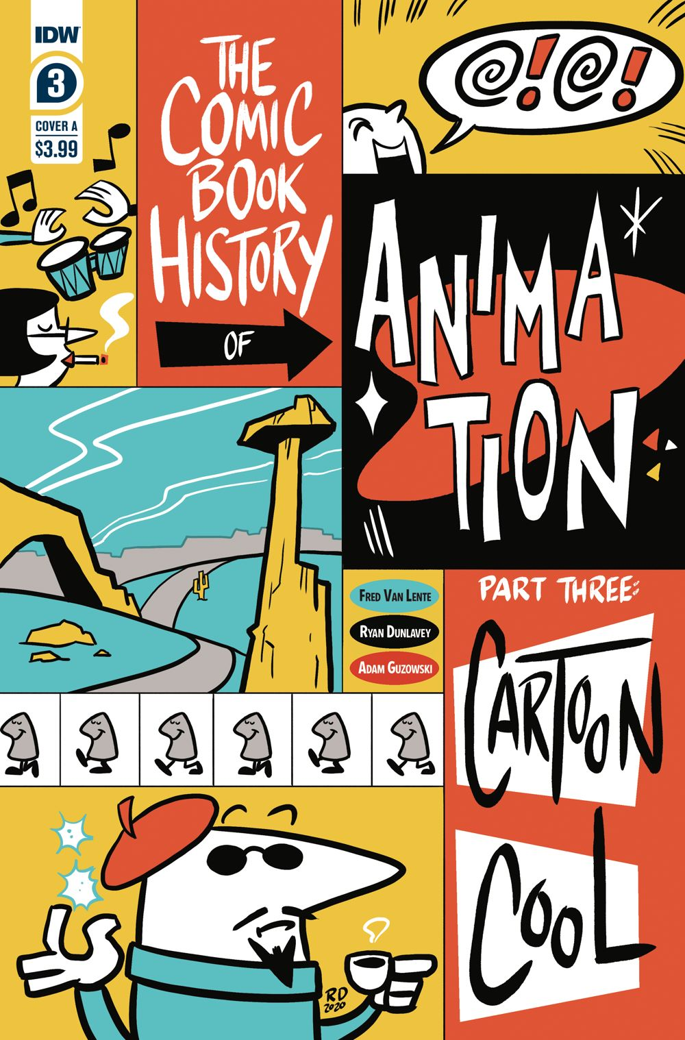 ComicBookHistory_03_CvrA ComicList Previews: COMIC BOOK HISTORY OF ANIMATION #3 (OF 5)