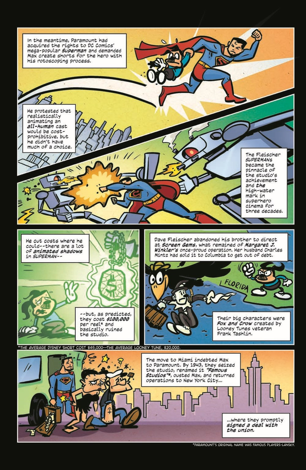 ComicBookHistory_03_pr-7 ComicList Previews: COMIC BOOK HISTORY OF ANIMATION #3 (OF 5)