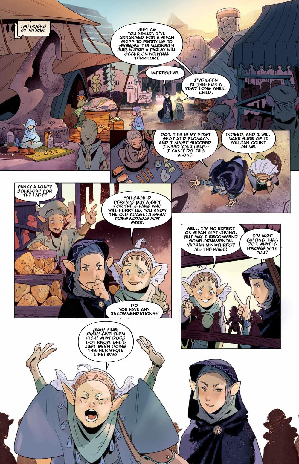 DarkCrystal_AgeResistance_v3_Journey_PRESS_20 ComicList Previews: JIM HENSON'S THE DARK CRYSTAL AGE OF RESISTANCE VOLUME 3 THE JOURNEY INTO THE MONDO LEVIADIN HC