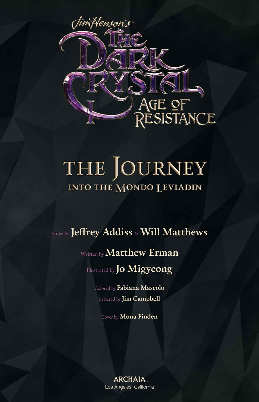 DarkCrystal_AgeResistance_v3_Journey_PRESS_5 ComicList Previews: JIM HENSON'S THE DARK CRYSTAL AGE OF RESISTANCE VOLUME 3 THE JOURNEY INTO THE MONDO LEVIADIN HC