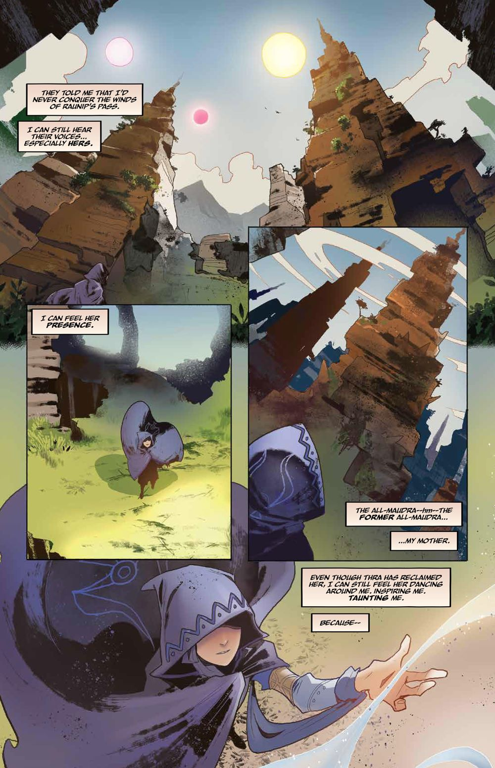 DarkCrystal_AgeResistance_v3_Journey_PRESS_9 ComicList Previews: JIM HENSON'S THE DARK CRYSTAL AGE OF RESISTANCE VOLUME 3 THE JOURNEY INTO THE MONDO LEVIADIN HC
