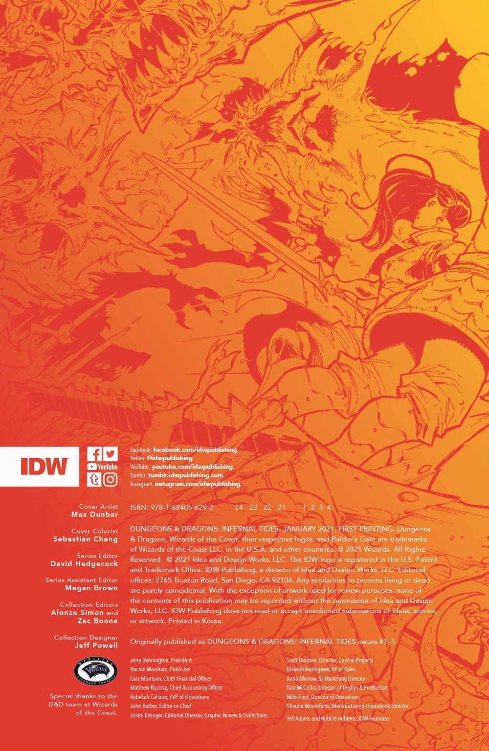 DnD_IF_TPB_pr-2 ComicList Previews: DUNGEONS AND DRAGONS INFERNAL TIDES TP