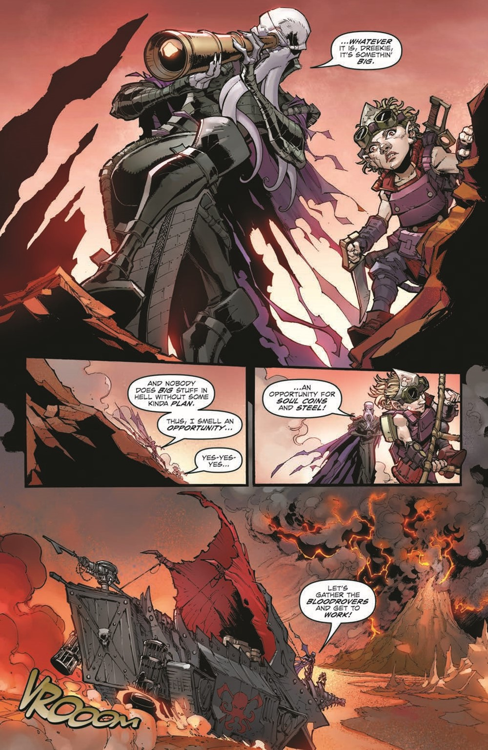 DnD_IF_TPB_pr-5 ComicList Previews: DUNGEONS AND DRAGONS INFERNAL TIDES TP