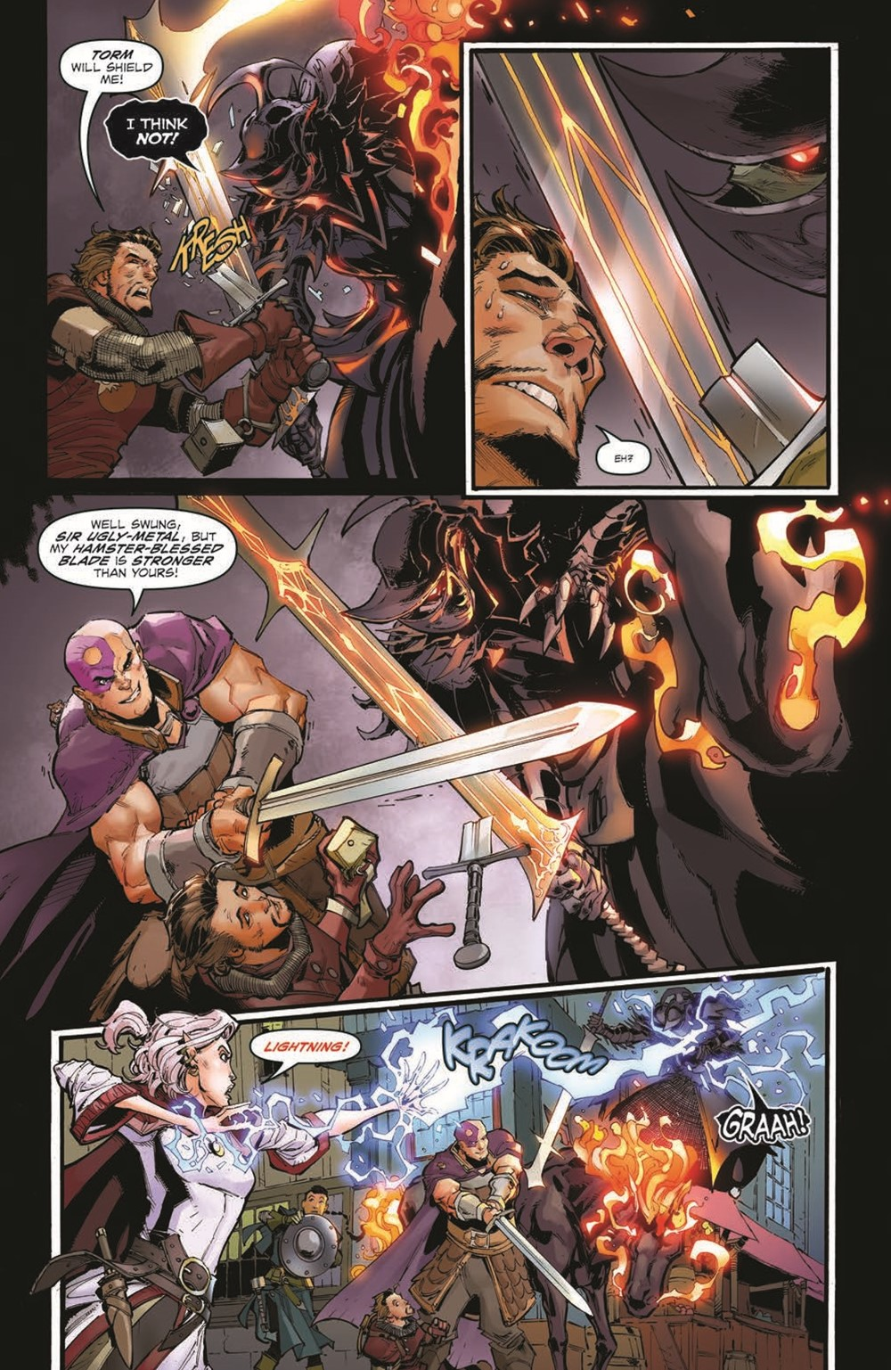 DnD_IF_TPB_pr-8 ComicList Previews: DUNGEONS AND DRAGONS INFERNAL TIDES TP