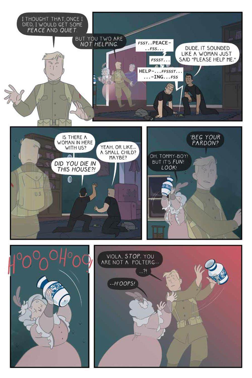 ForeverHome_SC_PRESS_12 ComicList Previews: FOREVER HOME GN