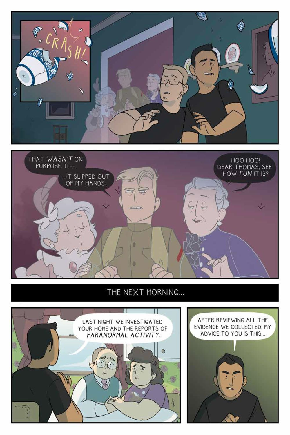 ForeverHome_SC_PRESS_13 ComicList Previews: FOREVER HOME GN
