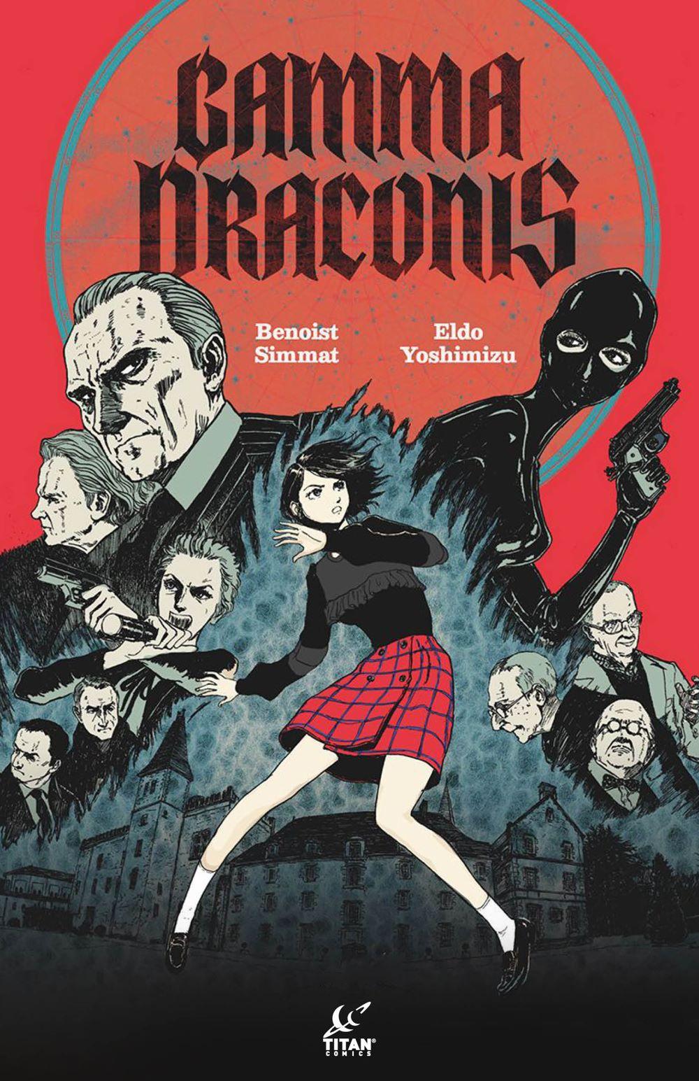 Gamma-Draconis Titan Comics May 2021 Solicitations