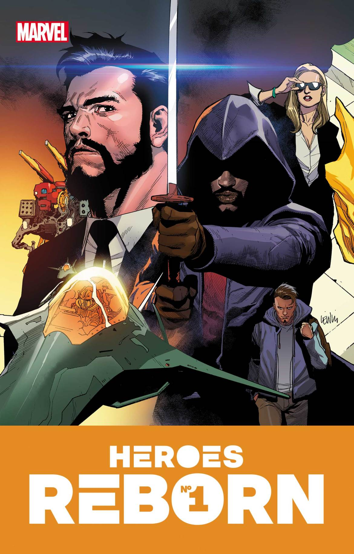 HEROESREBORN2021001 Marvel Comics May 2021 Solicitations