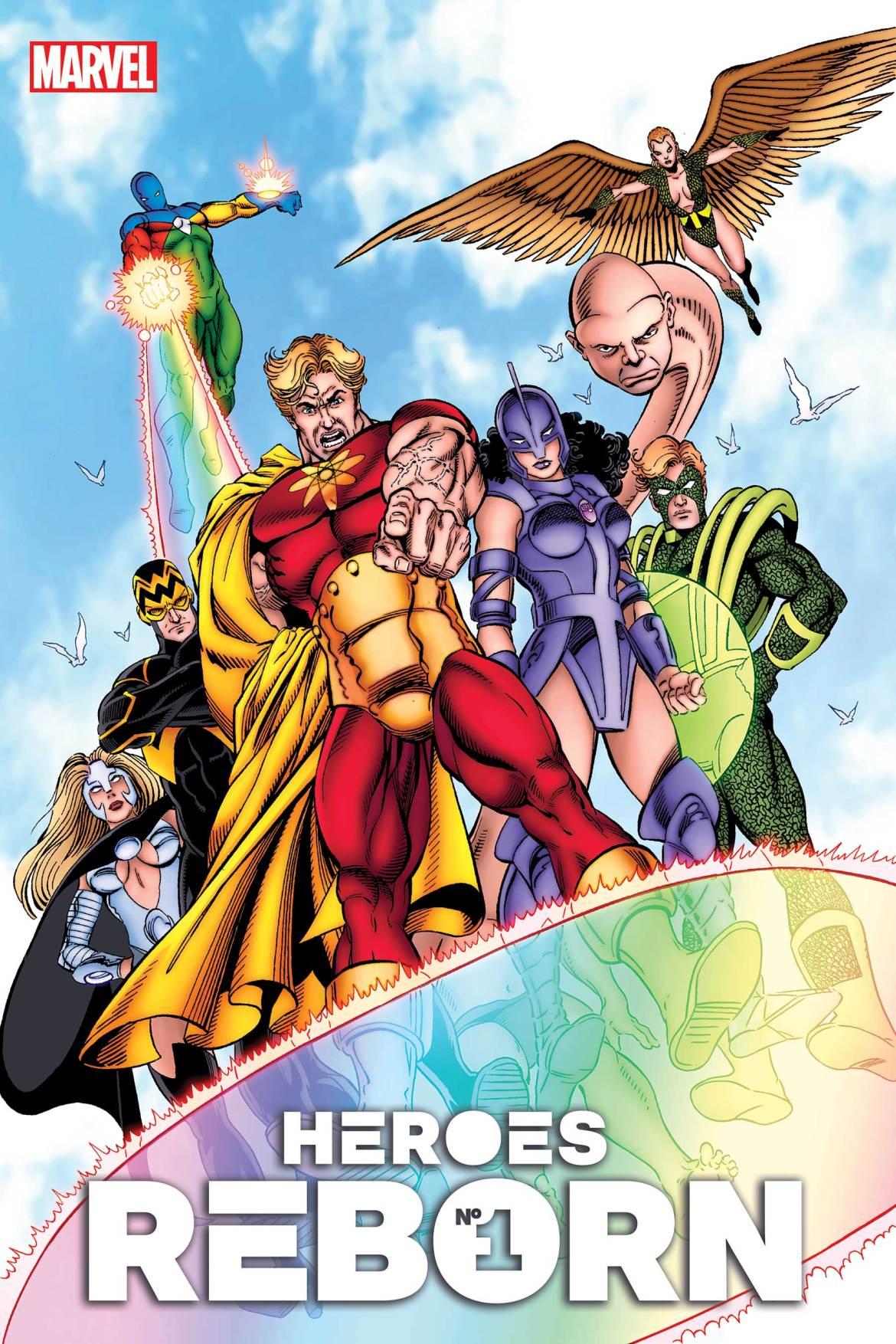 HEROESREBORN2021001_Hidden_Gem Marvel Comics May 2021 Solicitations