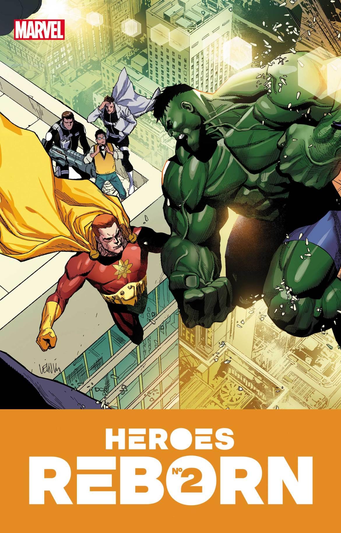 HEROESREBORN2021002 Marvel Comics May 2021 Solicitations