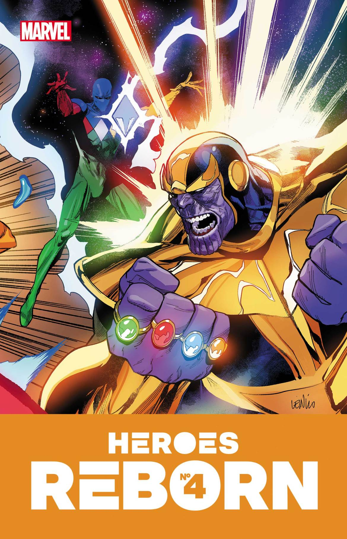 HEROESREBORN2021004 Marvel Comics May 2021 Solicitations